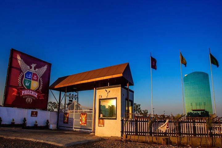 Phoenix World School-Entrance View