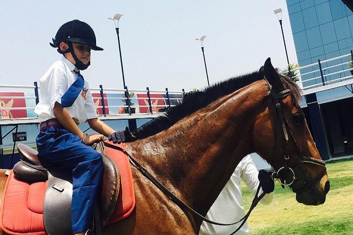 Phoenix World School-Horse Riding