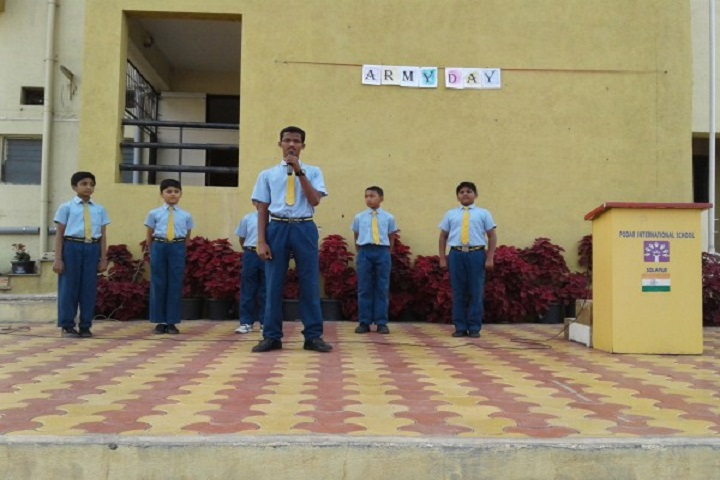 Podar International School-Army Day