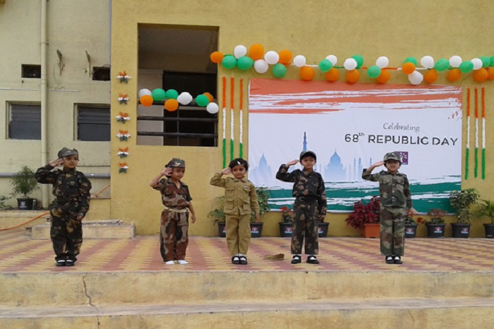 Podar International School-Republic day