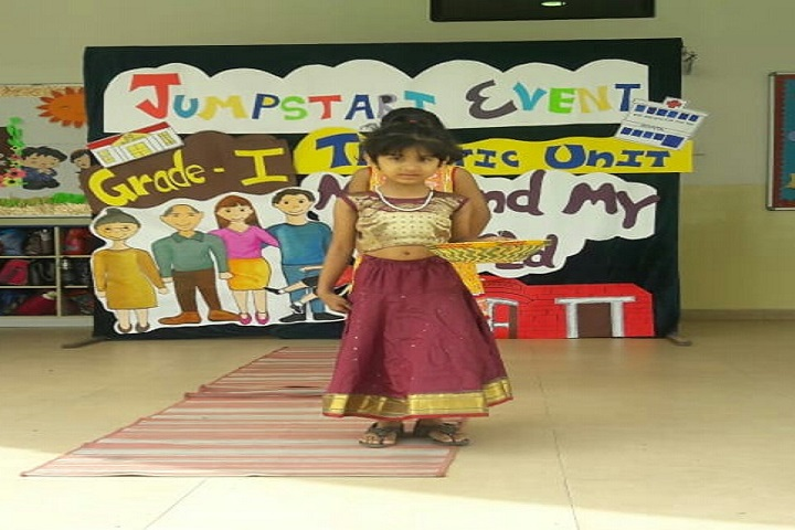 Podar International School-Jump Start Event
