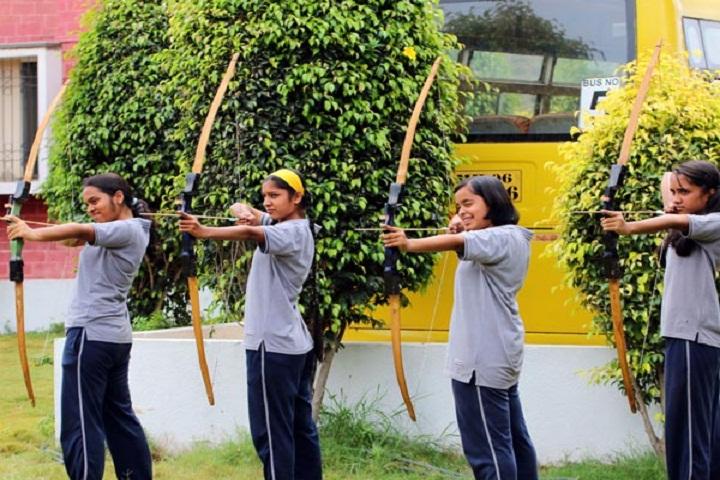 Podar International School-Archery