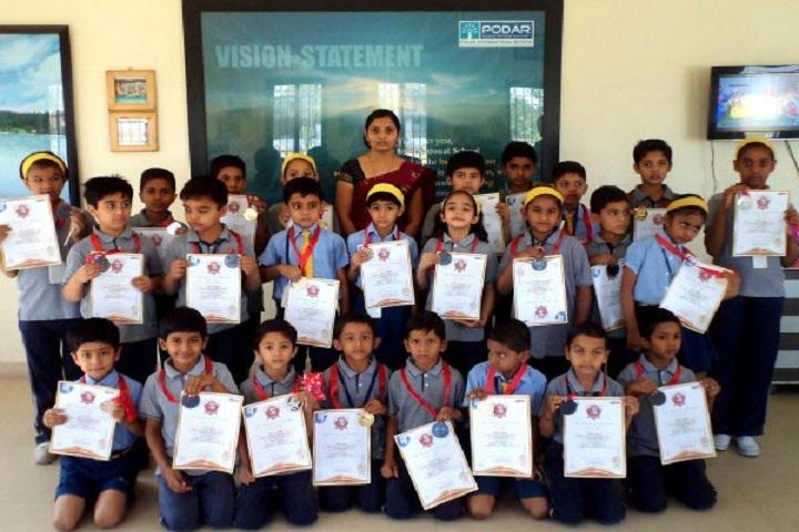 Podar International School-Certificates
