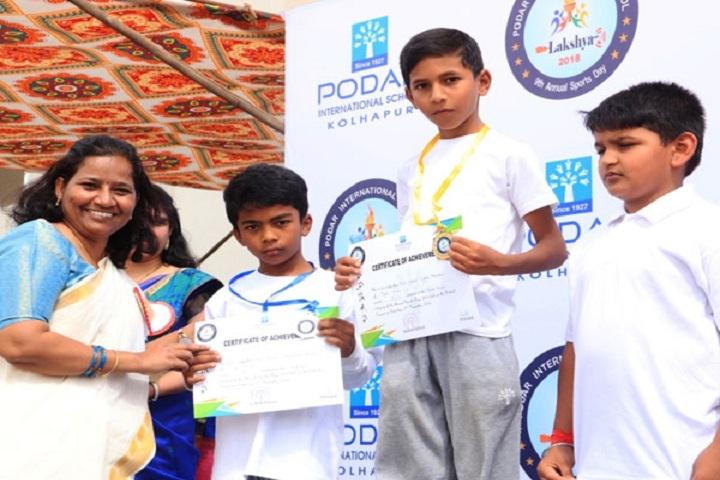 Podar International School-Winners