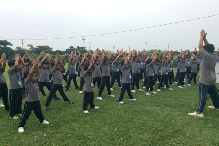Podar International School-Yoga-Day