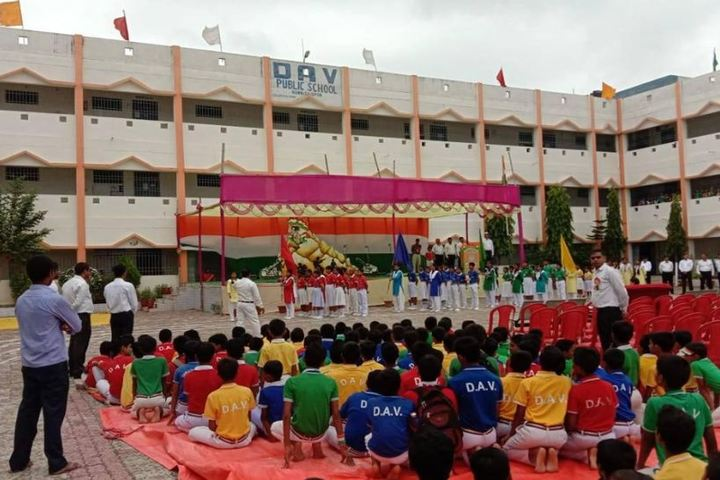 Dav Public School-Independence Day Celeberations