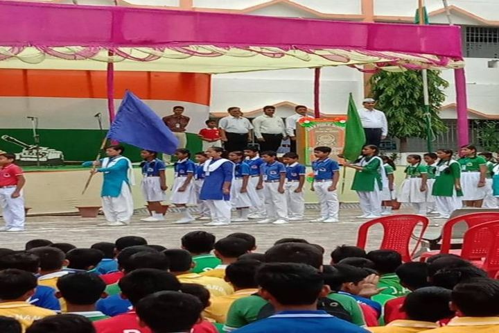 Dav Public School-March-Past