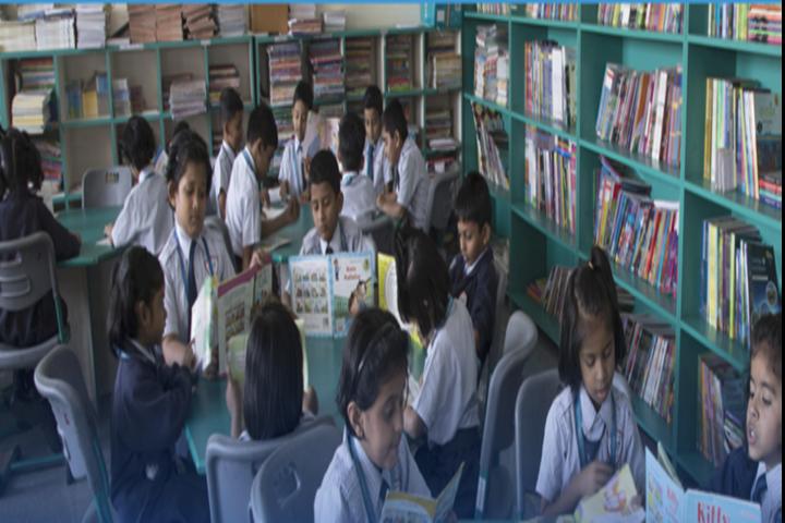 Poddar Brio International school-Library