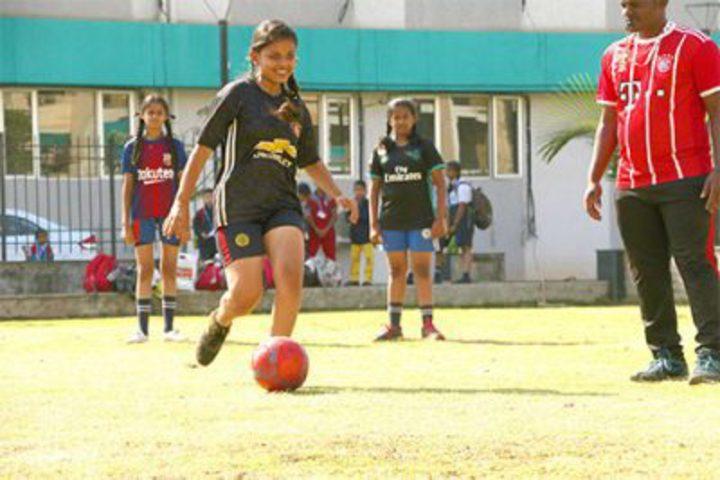 Poddar Brio International School-Sports