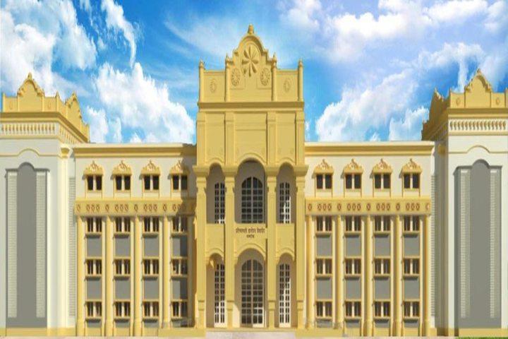 Pratibhasthali Gyanodaya Vidyapeeth-Building