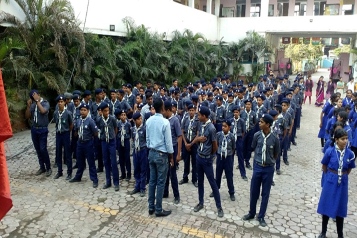 Priyadarshani Primary School-Morning Assembly