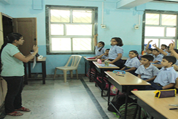 R N Podar School-Classroom