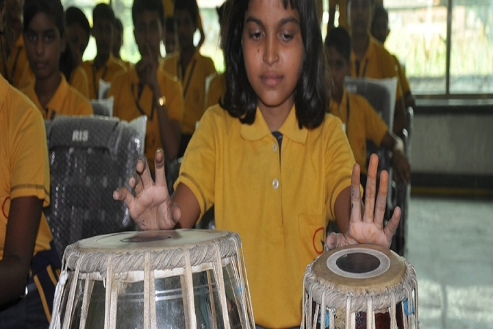Rahul International School-Music class