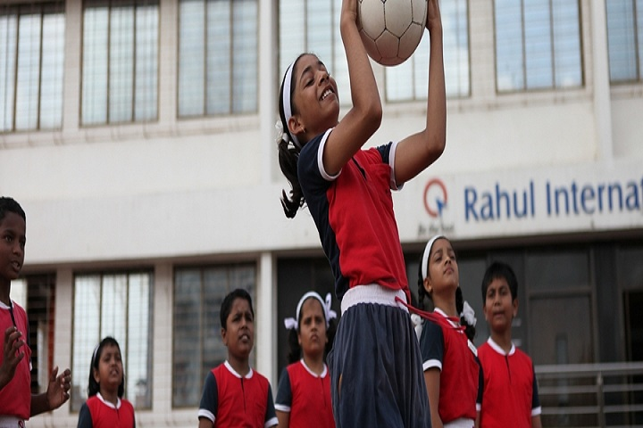 Rahul International School-Out door games