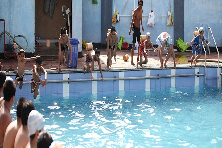 Rahul International School-Swimming pool