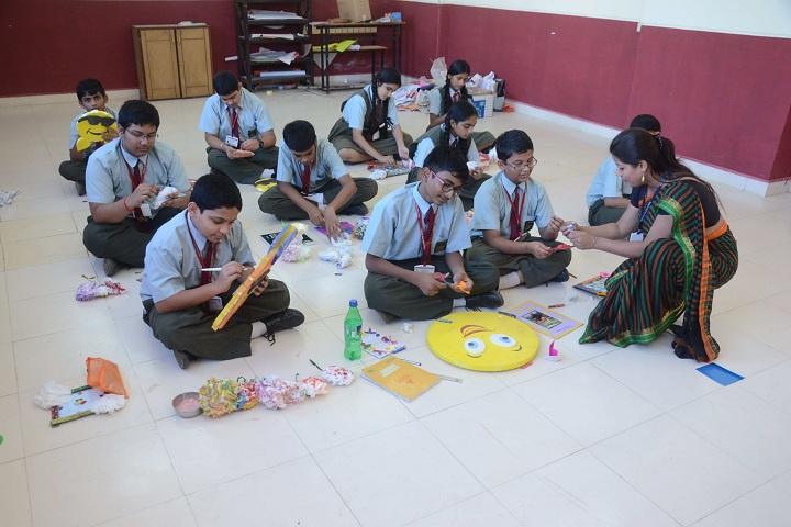 Raigad Military School-Art room