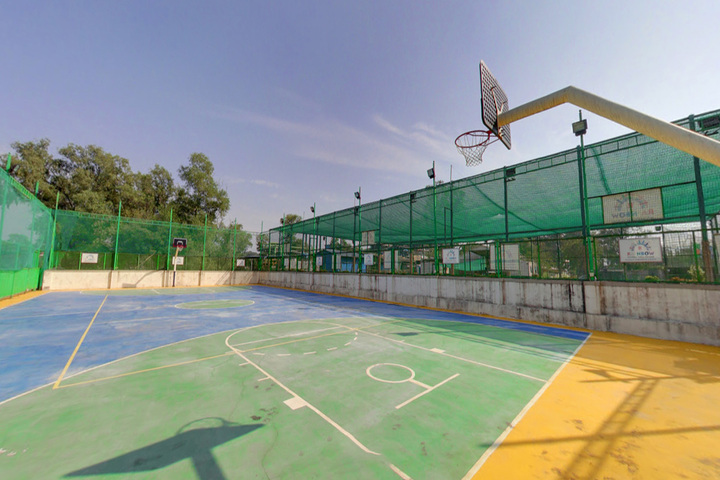 Rainbow International School-Basket Ball Court