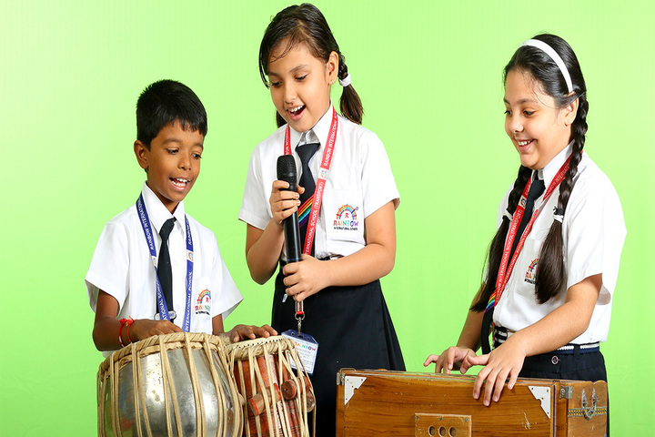 Rainbow International School-Music room