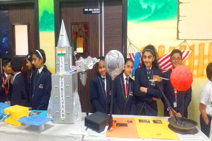 Rainbow International School-Science Exhibition