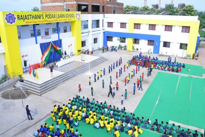 Rajasthanis Podar Learn School-Independence day