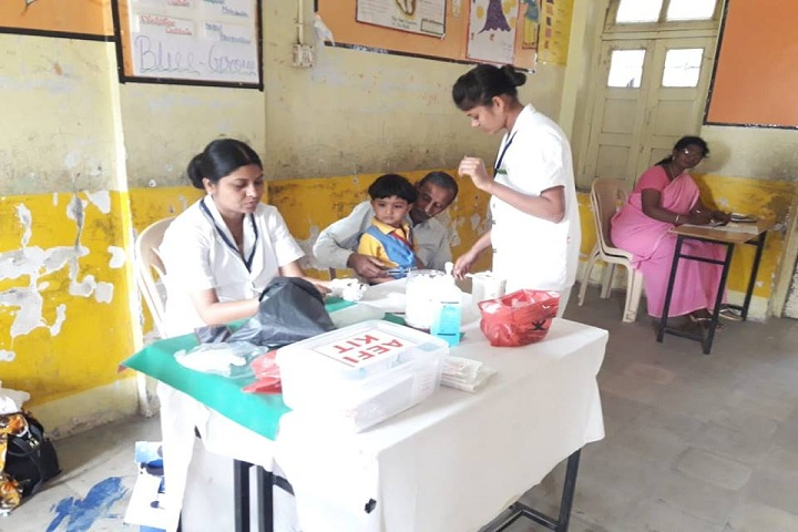 Ramabai Deshmukh Public School-Medical facility