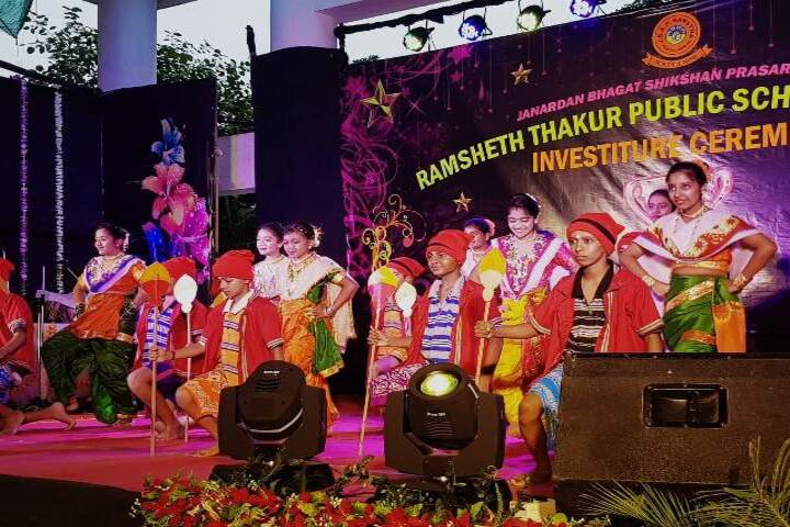 Ramsheth Thakur Public School-Investiture Ceremony