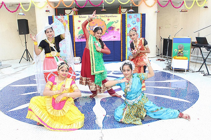 Reliance Foundation School-Group Dance