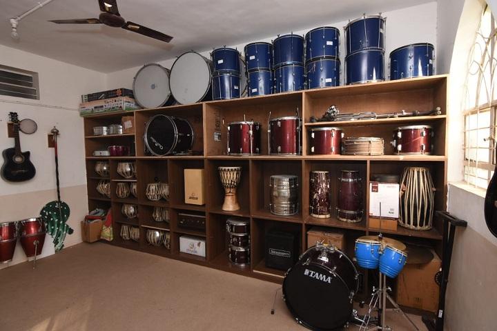 Riverdale High School-Music Room