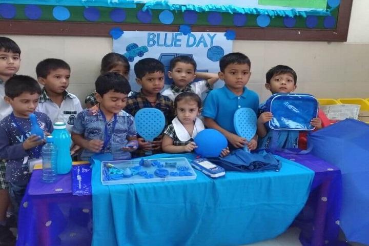 Rizvi Springfield School-Blue Day