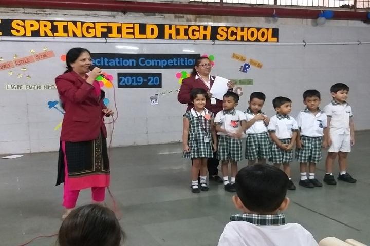Rizvi Springfield School-Recitation Competition