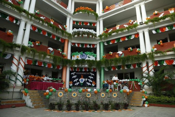 Rustomjie International School-Building