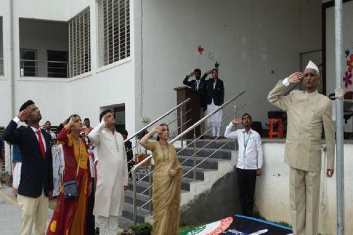 Sai Angels International School-Flag Hosting