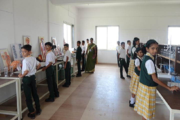 Sai Angels International School-Science Lab