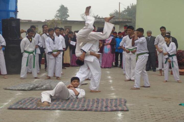 DAV Public School-Gymnastics