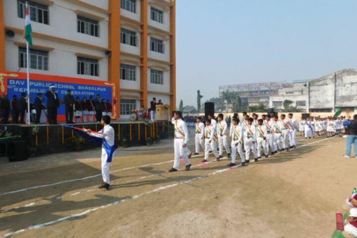DAV Public School-March Past