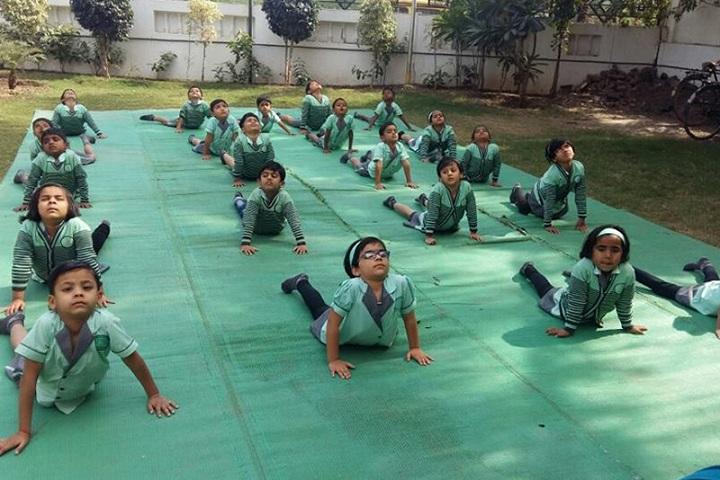 Samata International School-Yoga Day