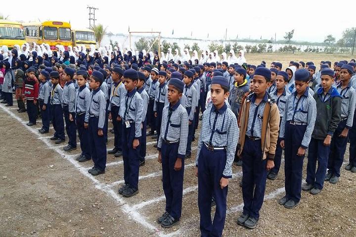 Sana International School-Assembly