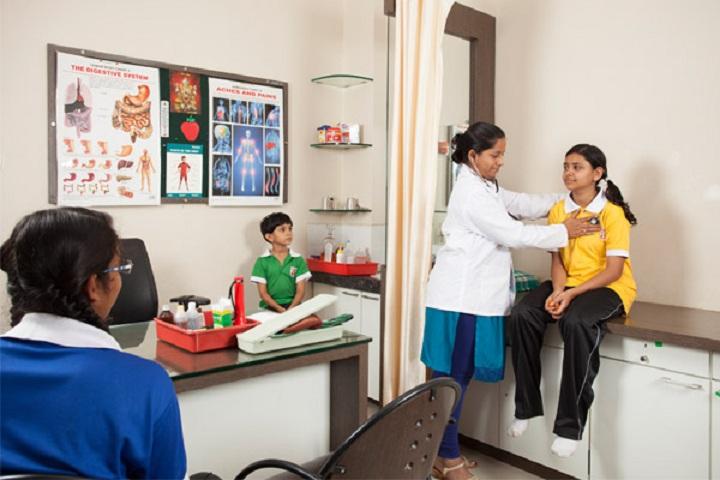 Sanjay Ghodawat International School-Health Care