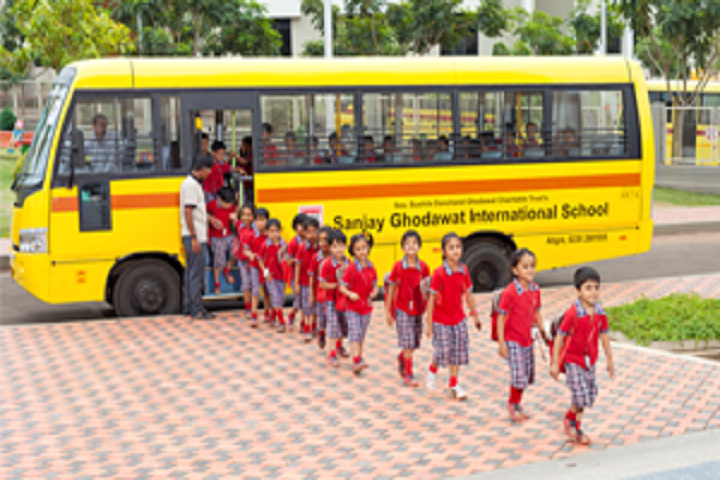 Sanjay Ghodawat International School-Transport