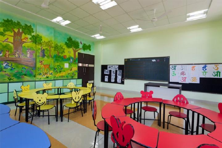 Sanjay Ghodawat International School-Primary classroom