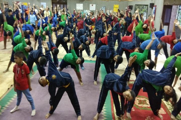 Sanjeewan Vidyalaya-Yoga Day