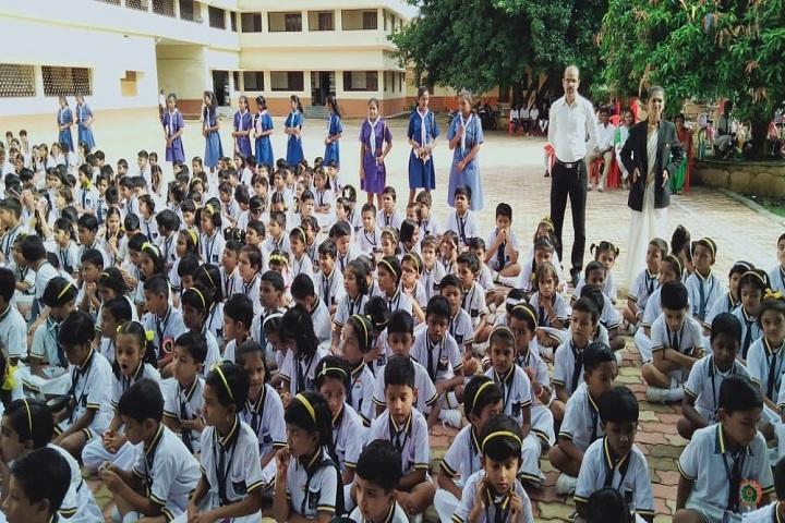 Sanjo Convent School-Assembly Ground