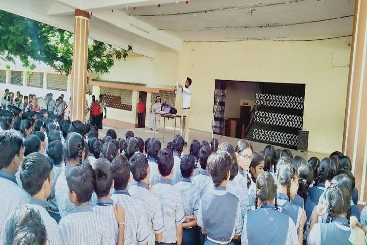 Sanjo Convent School-Assembly