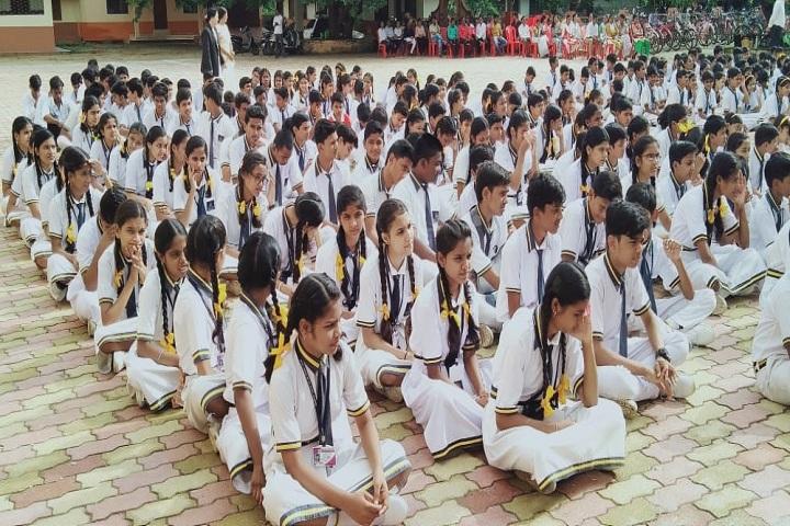 Sanjo Convent School-Yoga Class