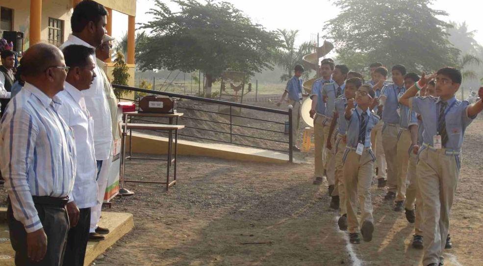 Sanskruti Foundation-March Past