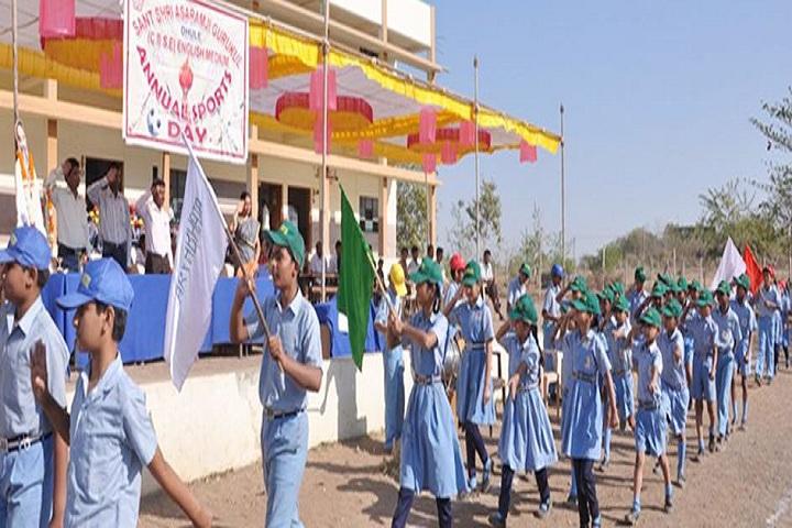 Sant Shri Asharamji Gurukul-March Past