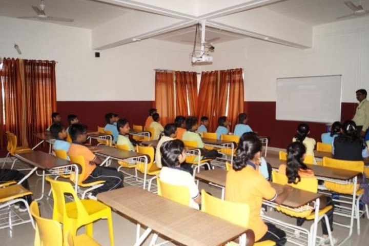 Sant Tukaram National Model School-Classroom