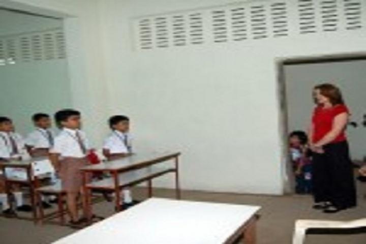 Saraswati Vidyamandir English Medium School-Classroom