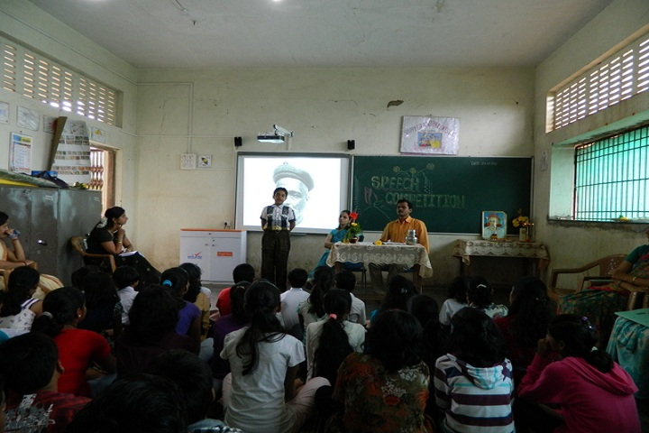 Saraswati Vidyamandir English Medium School-Speech Competition