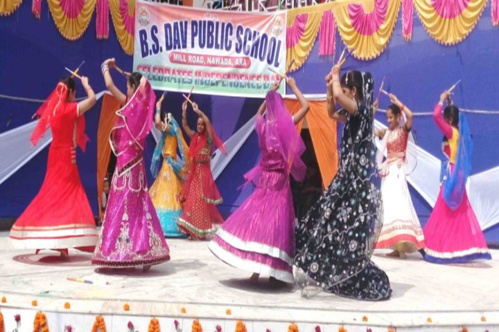 Dav Public School-Dancing Activity